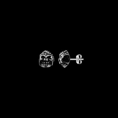 Gothik acier tête de mort