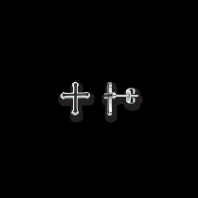 Kingdom acier et croix noire